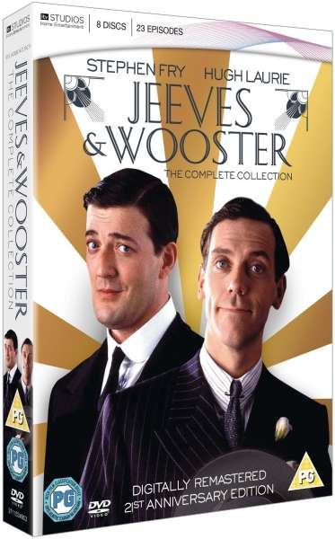 jeeves and wooster complete collection digitally remastered dvd. Black Bedroom Furniture Sets. Home Design Ideas