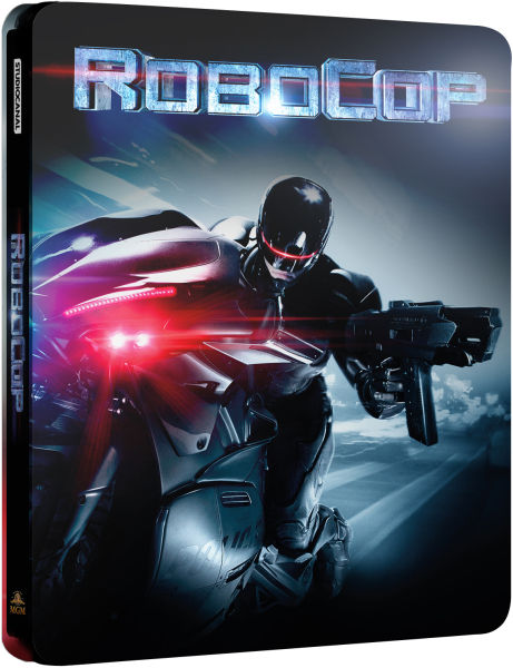 Robocop - Steelbook Edition Blu-ray : Zavvi.com