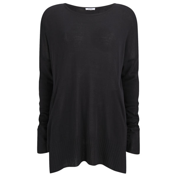 D.EFECT Women's Garey Light Sweater - Black