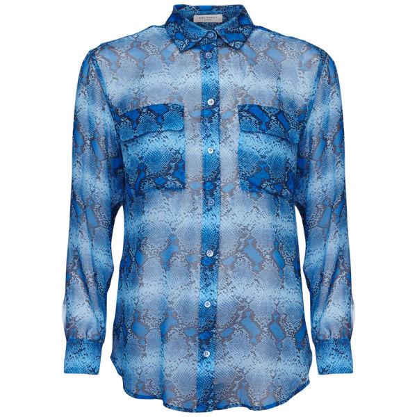 Equipment Women's Signature Blouse - Parisian Blue