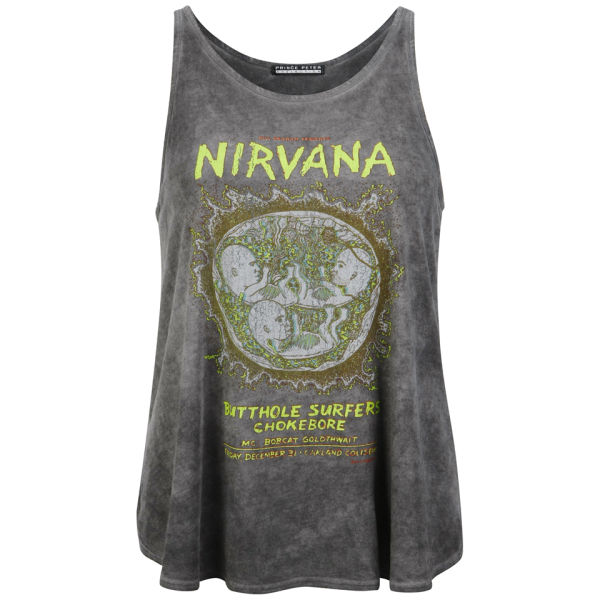 Prince Peter Women's Nirvana Tank Top - Vintage Black