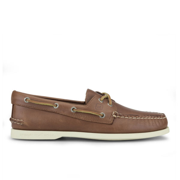 Sperry Men's A/O 2-Eye Leather Boat Shoes - Tan