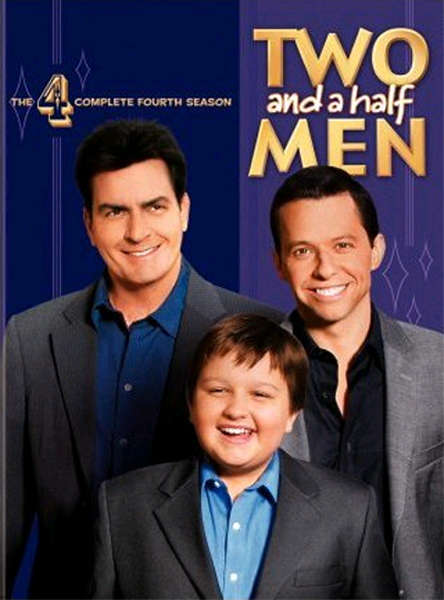 Two and a Half Men Season 4 Poster