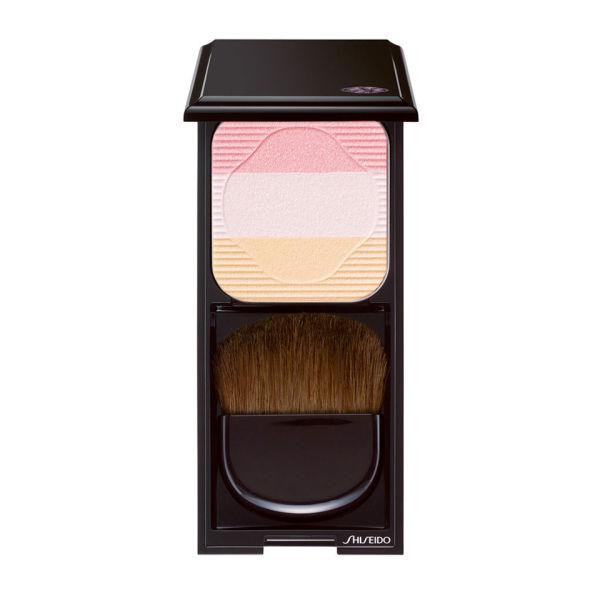 Trío colorete e iluminador Shiseido Face Colour Enhancing Trio PK1 (7g) Lychee