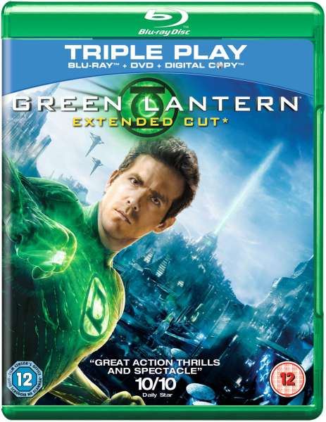 green lantern extended cut includes dvd version