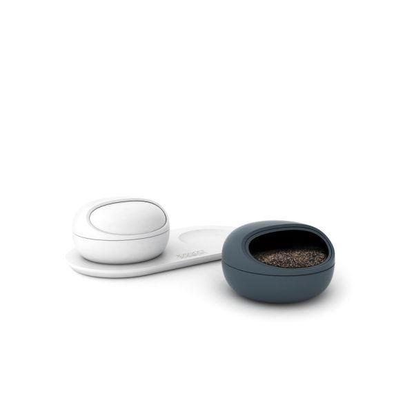 Joseph Joseph Ovi Salt And Pepper Pinch Pots Homeware