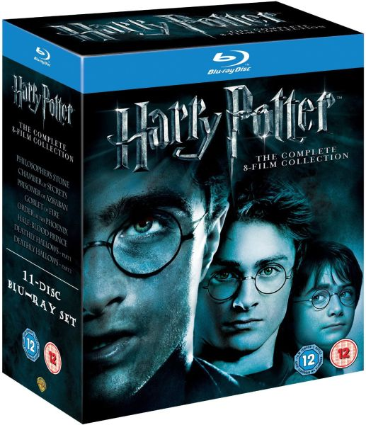Harry potter the complete collection 1 7 2 blu ray for Sejour complet harry potter