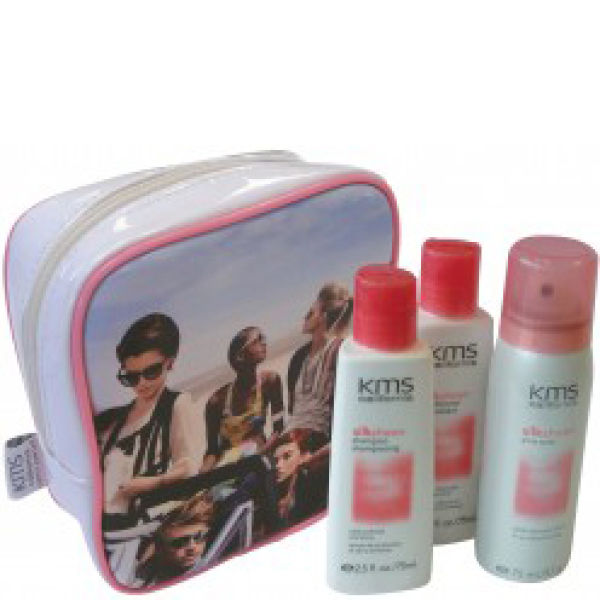 Kms California Shine With Silksheen Travel Kit (3 Products)
