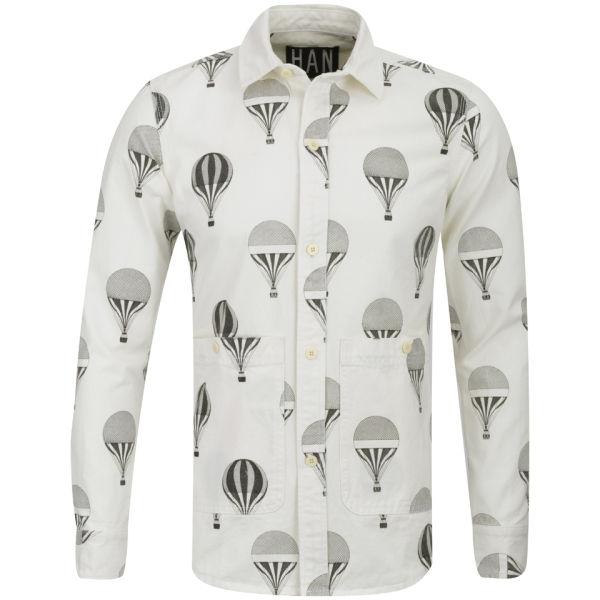 Han Kjobenhavn Men 39 S Balloon Shirt Off White Free Uk