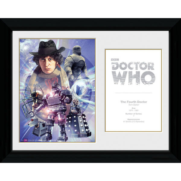 Doctor Who 4th Doctor Tom Baker - 30 x 40cm Collector Prints