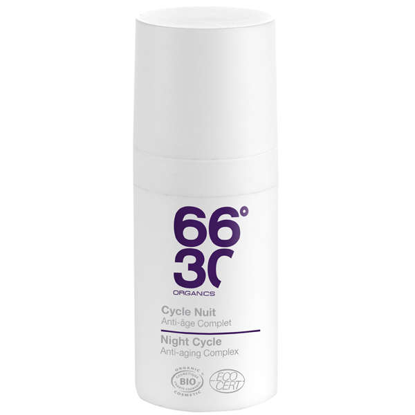 66°30 Organics Night Cycle Face Regenerating Anti-ageing Complex 15ml