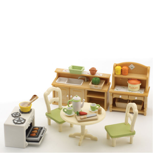 Sylvanian Families Country Kitchen Set Toys