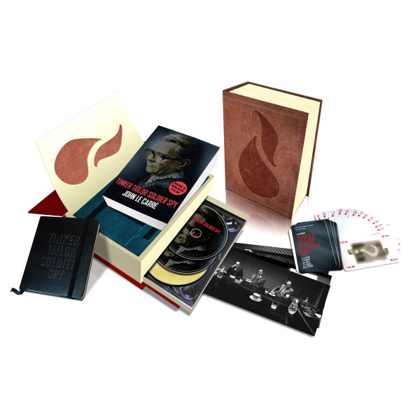 Tinker Tailor Soldier Spy Deluxe Edition Blu Ray Dvd