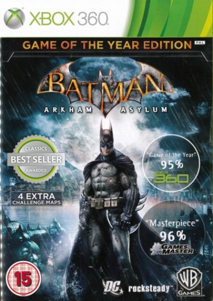 Batman: Arkham Asylum Game of the Year Edition Xbox 360 | Zavvi