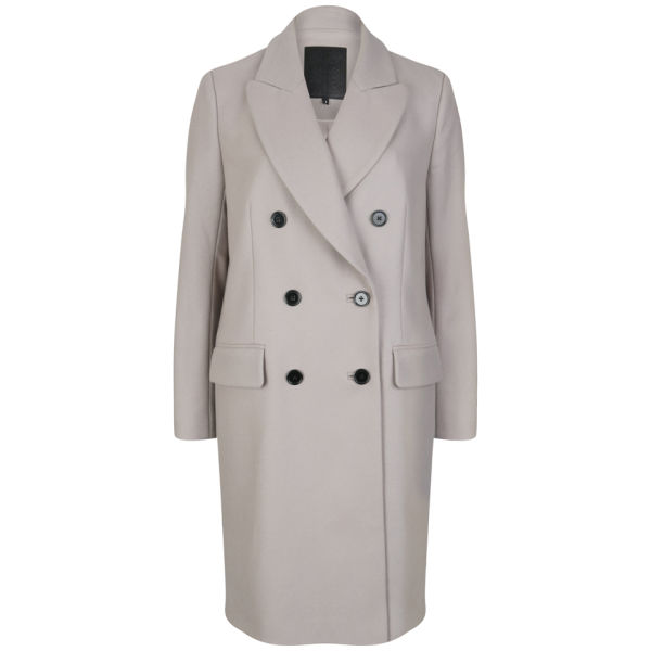 D.EFECT Women's Tallulah Coat - Grey Beige