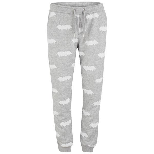 Zoe Karssen Women's All-Over Bat Print Sweatpants - Grey