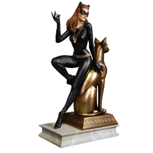 Page home sideshow collectibles dc comics batman 1966 catwoman statue