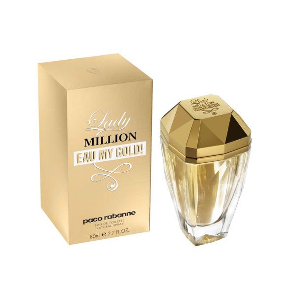 Paco Rabanne Lady Million Eau My Gold EDT (80ml)