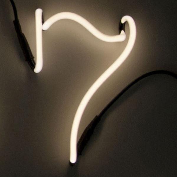 Seletti Neon Font Shaped Wall Light - 7