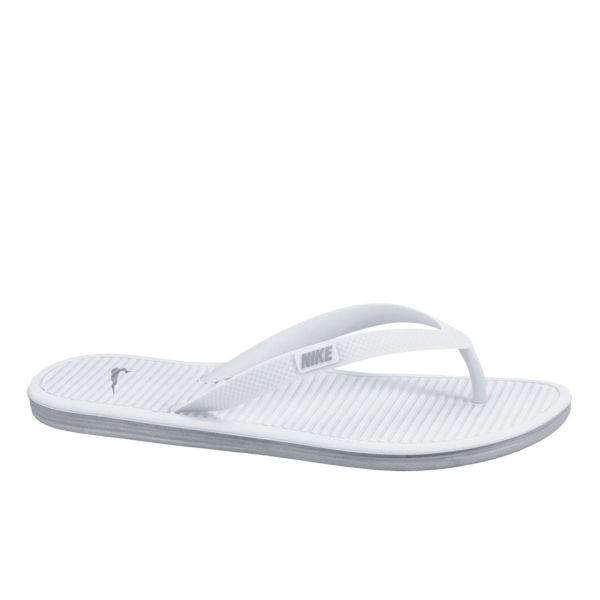 Nike Solarsoft Thong 2 Flip Flops White Sports Amp Leisure