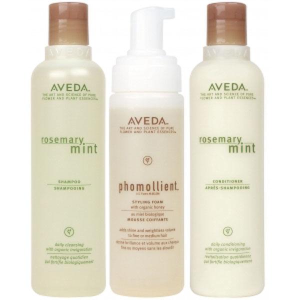 AvedaPflegeset für feines Haar (3 Produkte)