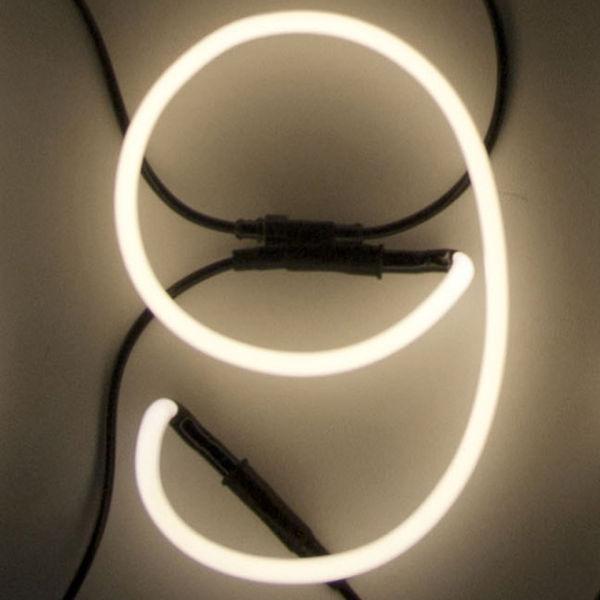 Seletti Neon Font Shaped Wall Light - 9