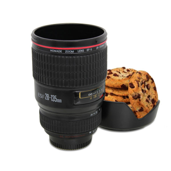 Camera lens cup iwoot for Photo lens coffee cup