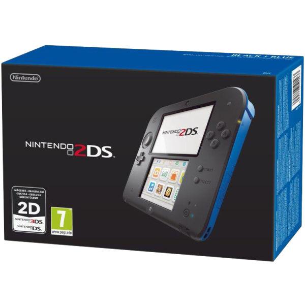 Nintendo 2DS Console (Black + Blue) | Nintendo UK Store