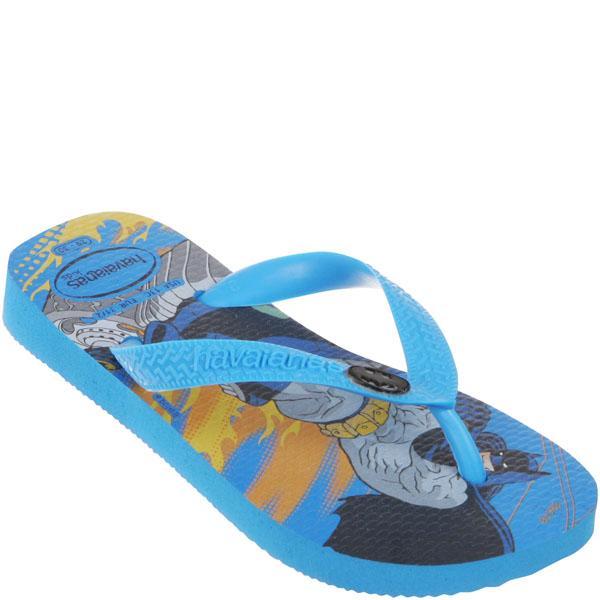 Havaianas Kids' Batman Flip Flops - Blue Sky