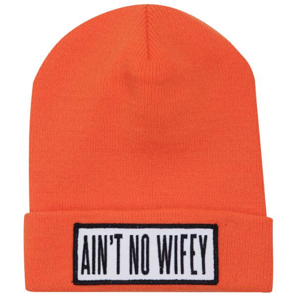 Dimepiece Women's Ain't No Wifey Beanie - Orange