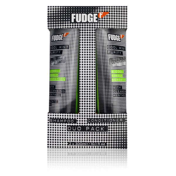 Fudge Cool Mint Purify Shampoo and Conditioner Duo (300ml)