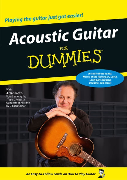 acoustic guitar for dummies dvd. Black Bedroom Furniture Sets. Home Design Ideas