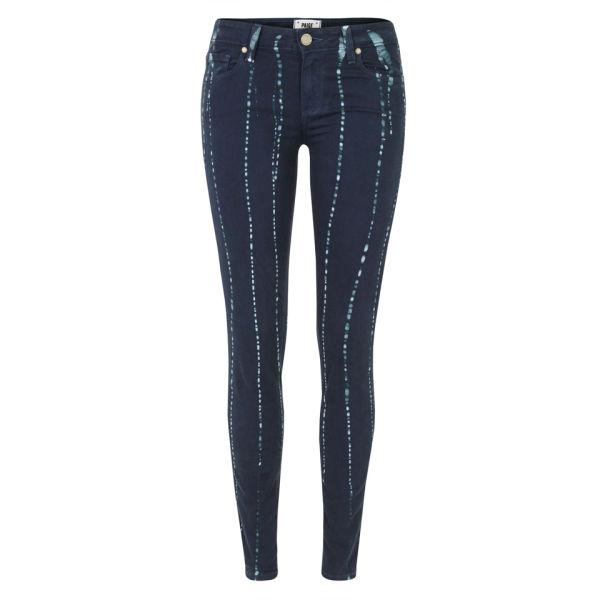 Paige Women's Verdugo Ultra Skinny Summer Night Batik Jeans - Indigo
