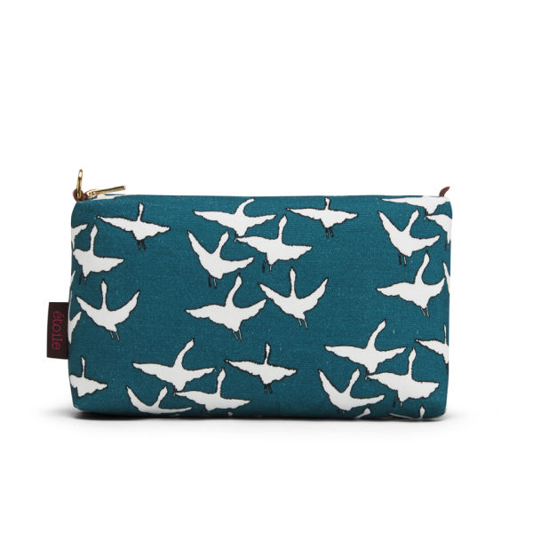 Etoile Geese Wash Bag - Petrol Blue