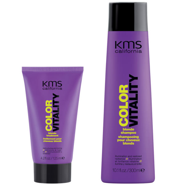 KMS California Colorvitality Blonde Hair Pack (2 Products)