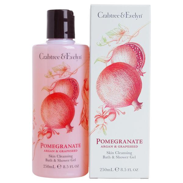 Crabtree & Evelyn Pomegranate, Argan & TraubenkernBade- & Duschgel (250 ml)