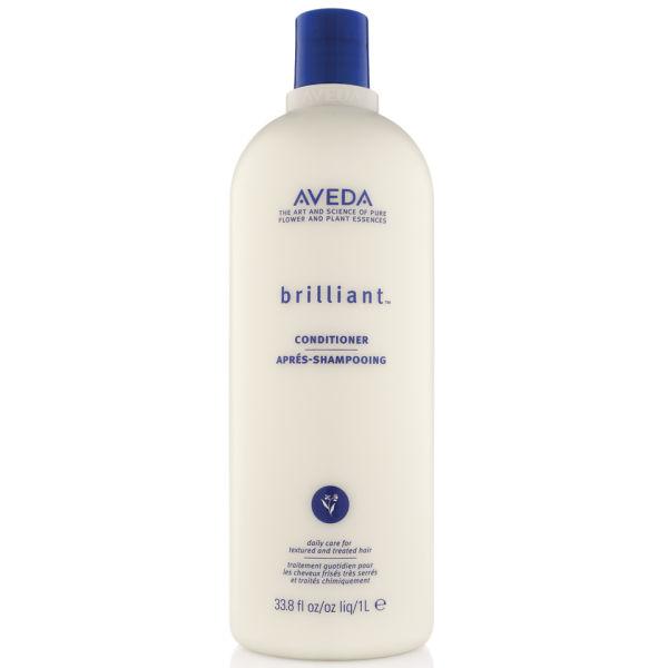 Aveda Brilliant Conditioner (1000 ml) - (värt £102,50)