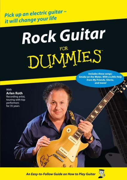 rock guitar for dummies dvd. Black Bedroom Furniture Sets. Home Design Ideas