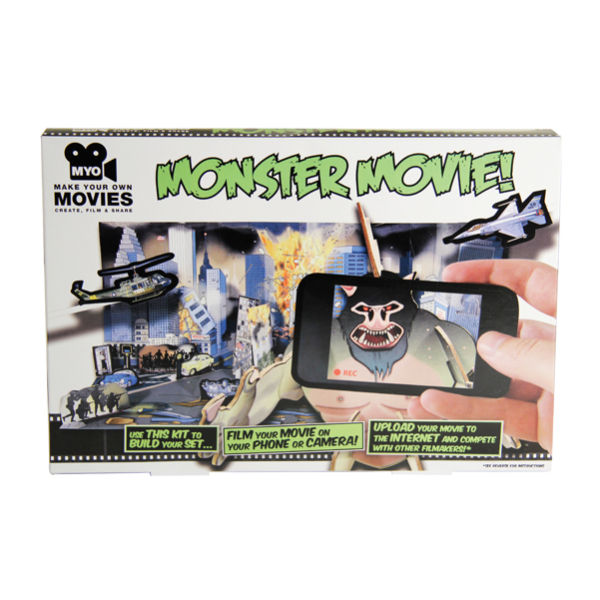 monster movie making kit unique gifts zavvicom