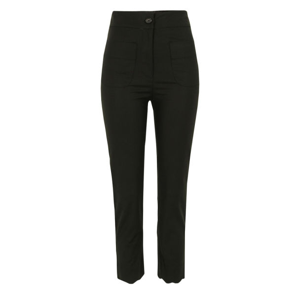 Bolzoni & Walsh Women's TR03 V1 Scalloped Trousers - Black