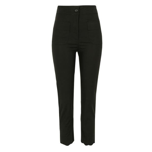 Bolzoni & Walsh Women's TR03 V1 Scalloped Trousers - Black