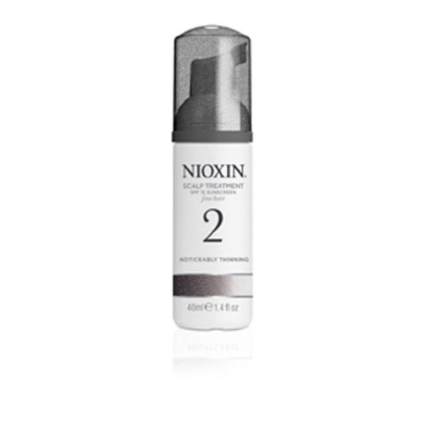 NIOXIN System 2 Scalp Treatment per diradamento notevole dei capelli naturali (100 ml)