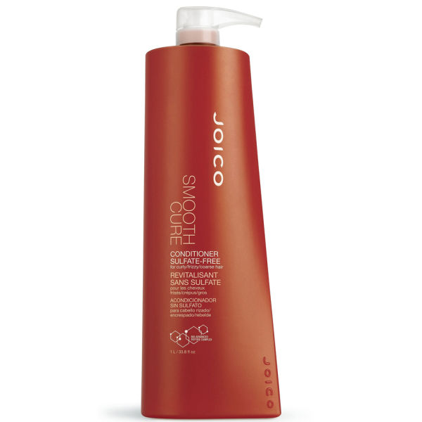 Joico Smooth Cure Conditioner - Sulfate Free (1000ml) - (Worth £46.50)