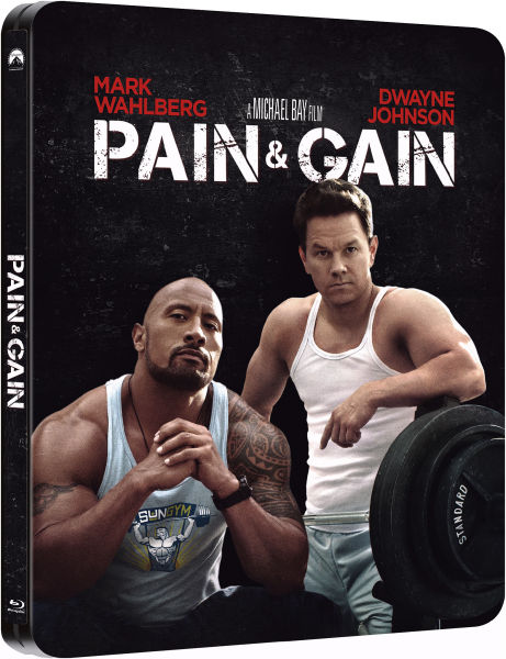 Pain and Gain - Zavvi Exclusive Limited Edition Steelbook ...  Pain and Gain -...