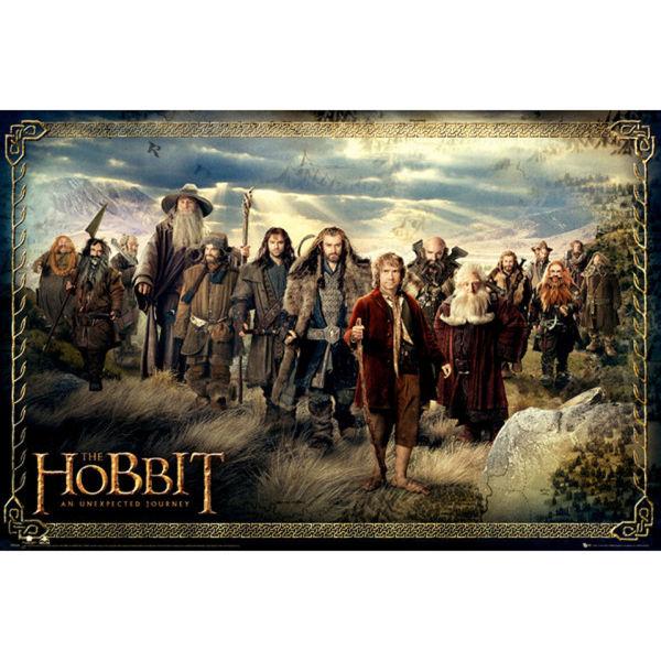 The Hobbit Cast - Maxi Poster - 61 x 91.5cm