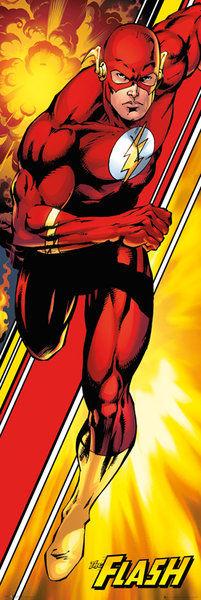 DC Comics Justice League Flash - Door Poster - 53 x 158cm