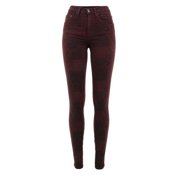 Nobody Women's Cult Skinny Jeans - Bordeaux