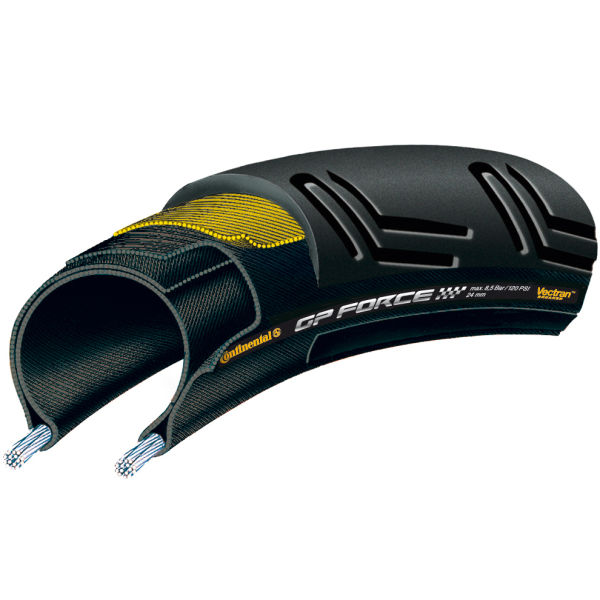 Continental Grand Prix Force II Clincher Road Tyre - Black