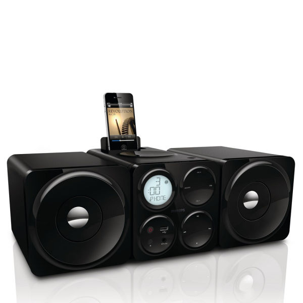 Philips Dcm1070 12 Cube Micro Music System Electronics