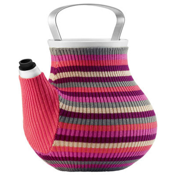 Eva Solo My Big Tea Teapot - Pink Stripes
